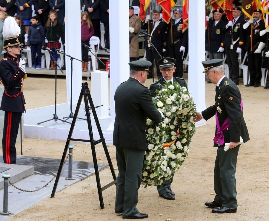 Le roi des Belges Philippe à Bruxelles, le 11 novembre 2018