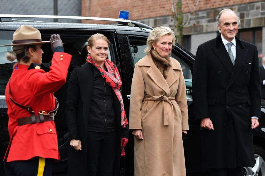 La princesse Astrid de Belgique et le prince Lorenz à Ville-sur-Haine, le 10 novembre 2018