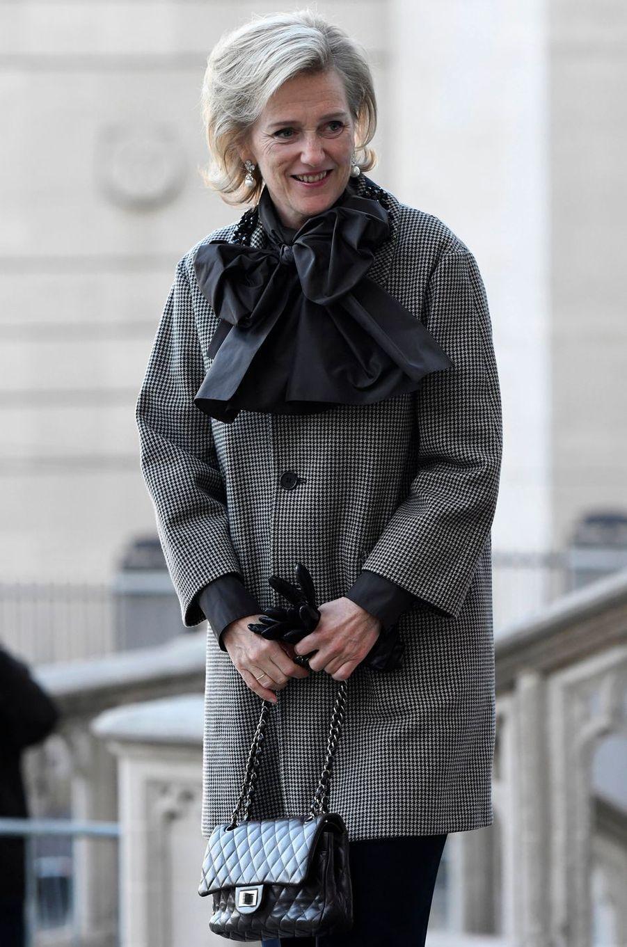 La princesse Astrid de Belgique à Bruxelles, le 15 novembre 2018
