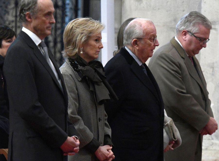 La famille royale belge, à Bruxelles le 15 novembre 2018