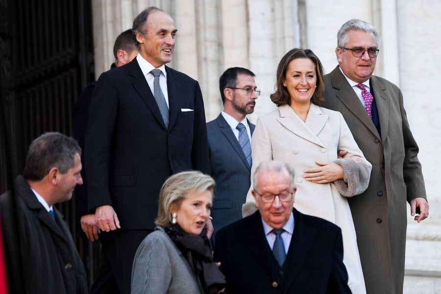 La famille royale de Belgique, le 15 novembre 2018 à Bruxelles