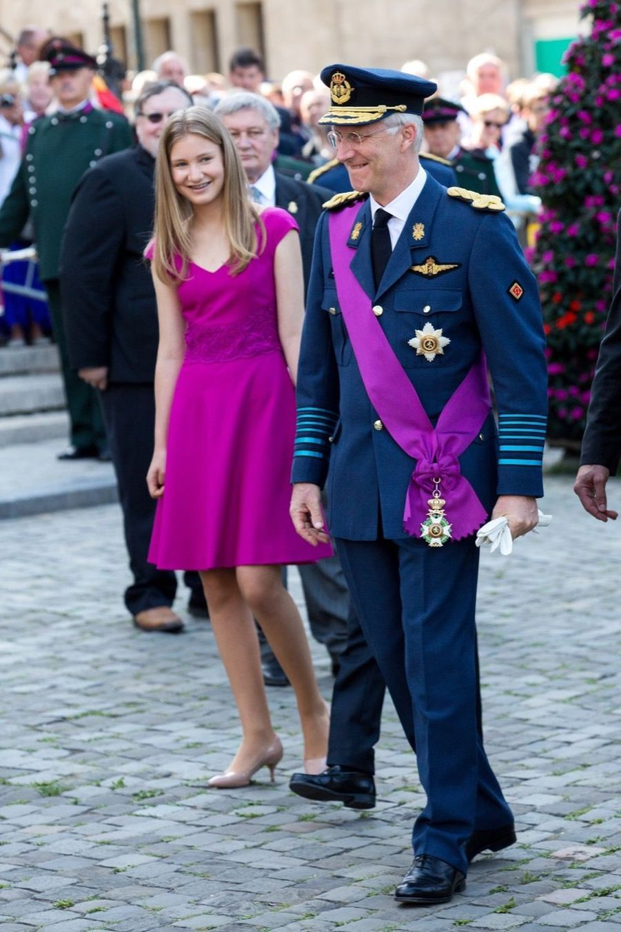 La Famille Royale Belge À La Cathédrale Saints Michel et Gudule De Bruxelles 12