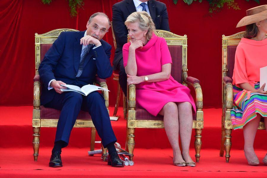 La Famille Royale Belge Au Défilé De La Fête Nationale 15