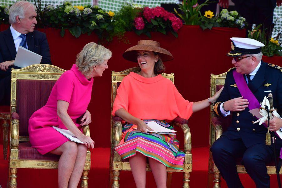 La Famille Royale Belge Au Défilé De La Fête Nationale 3
