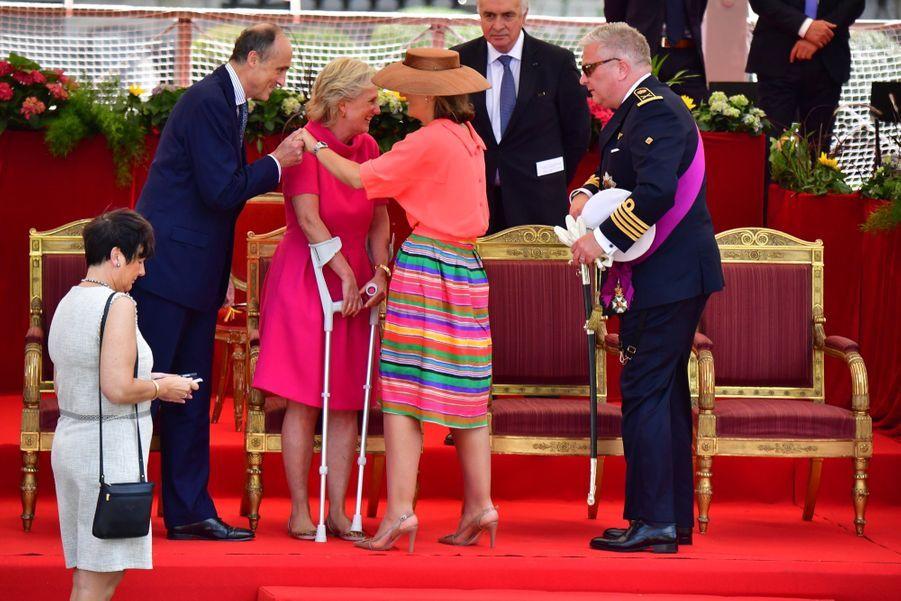La Famille Royale Belge Au Défilé De La Fête Nationale 7