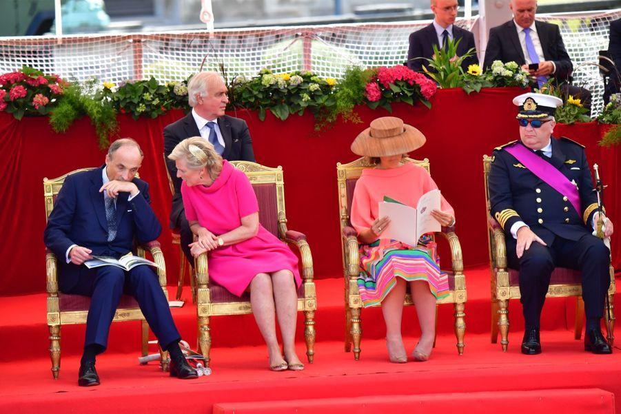 La Famille Royale Belge Au Défilé De La Fête Nationale 8