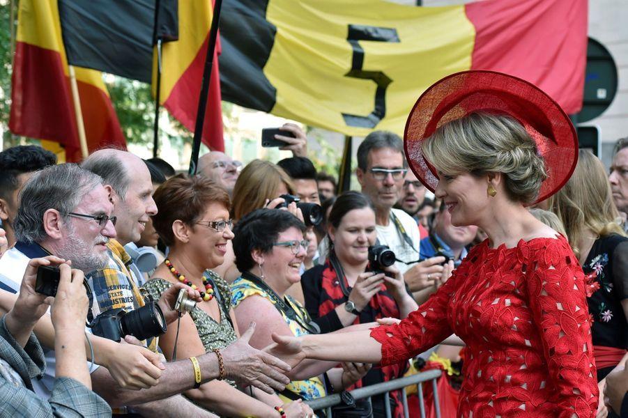 La Famille Royale Belge À La Cathédrale Saints Michel et Gudule De Bruxelles ( 12