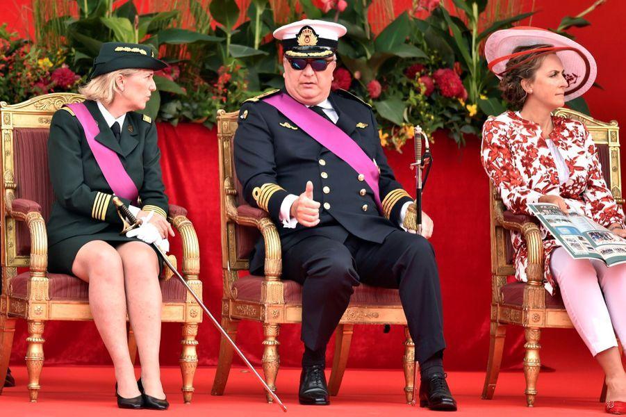 La Famille Royale Belge Au Défilé De La Fête Nationale ( 6