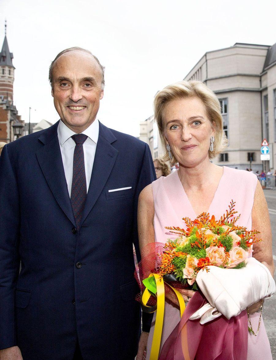 Le Roi Et La Reine Des Belges Au Concert En Prélude À La Fête Nationale ( 3