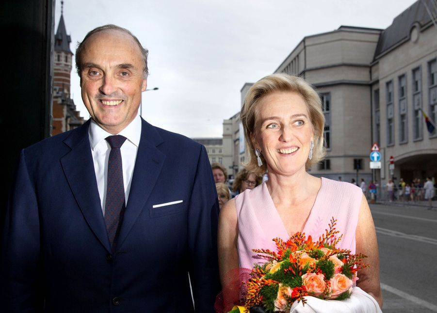 Le Roi Et La Reine Des Belges Au Concert En Prélude À La Fête Nationale ( 8