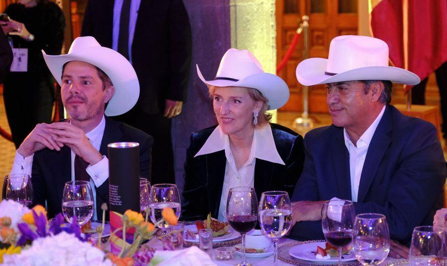 La princesse Astrid de Belgique à Monterrey, le 21 février 2019