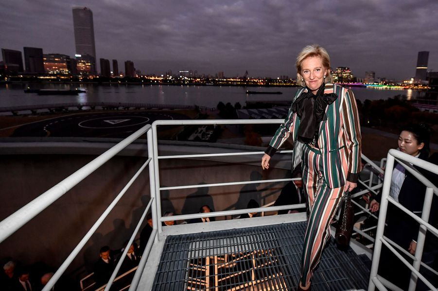 La princesse Astrid de Belgique à Shanghai, le 21 novembre 2019