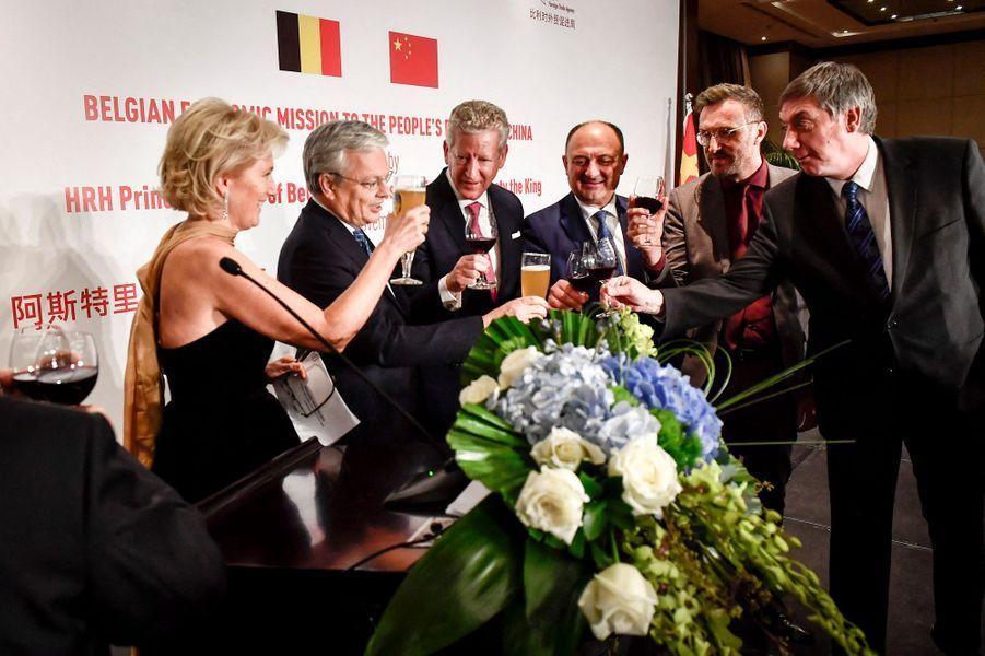 La princesse Astrid de Belgique à Pékin, le 18 novembre 2019