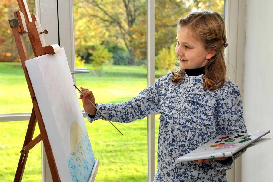 La princesse Elisabeth de Belgique, le 16 décembre 2011