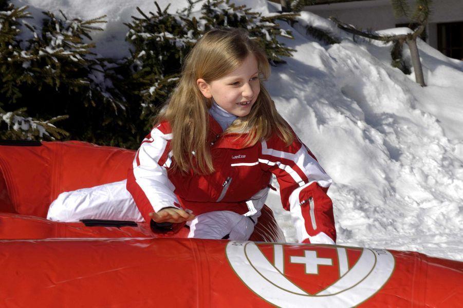La princesse Elisabeth de Belgique, le 22 février 2012