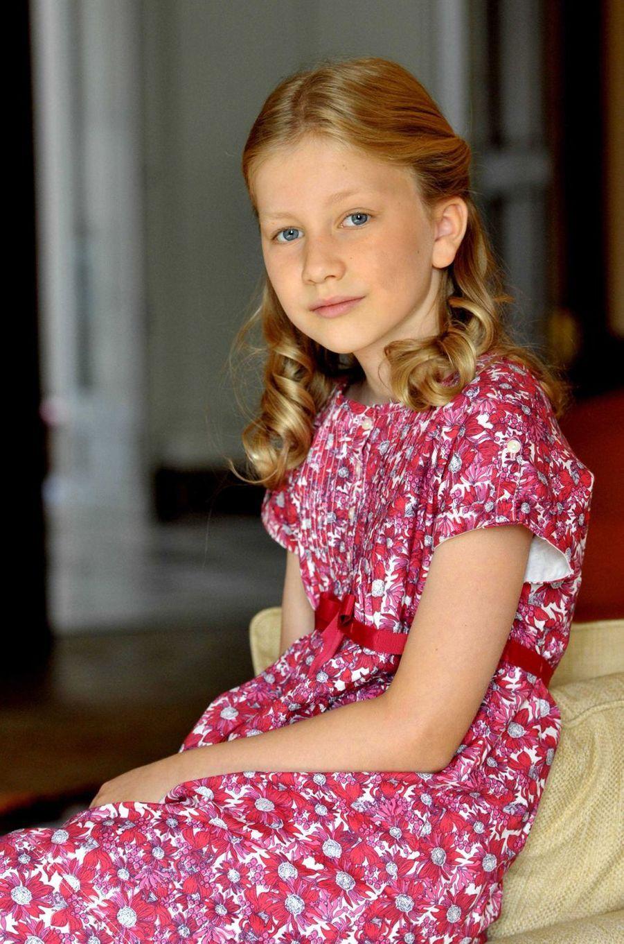 La princesse Elisabeth de Belgique, le 26 décembre 2012