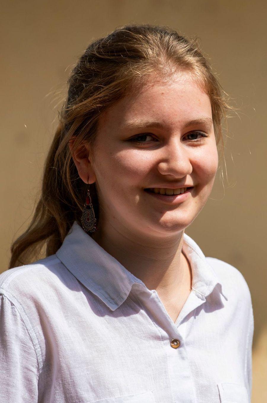 La princesse Elisabeth de Belgique au Kenya, le 25 juin 2019