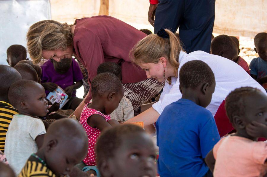 La reine des Belges Mathilde et la princesse Elisabeth de Belgique au Kenya, le 25 juin 2019
