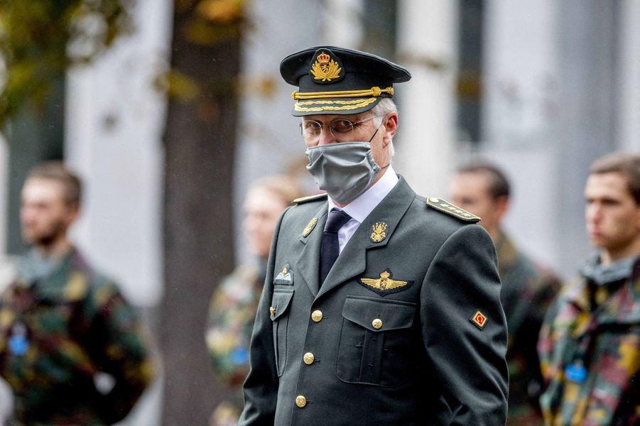 Le roi des Belges Philippe à Bruxelles, le 25 septembre 2020