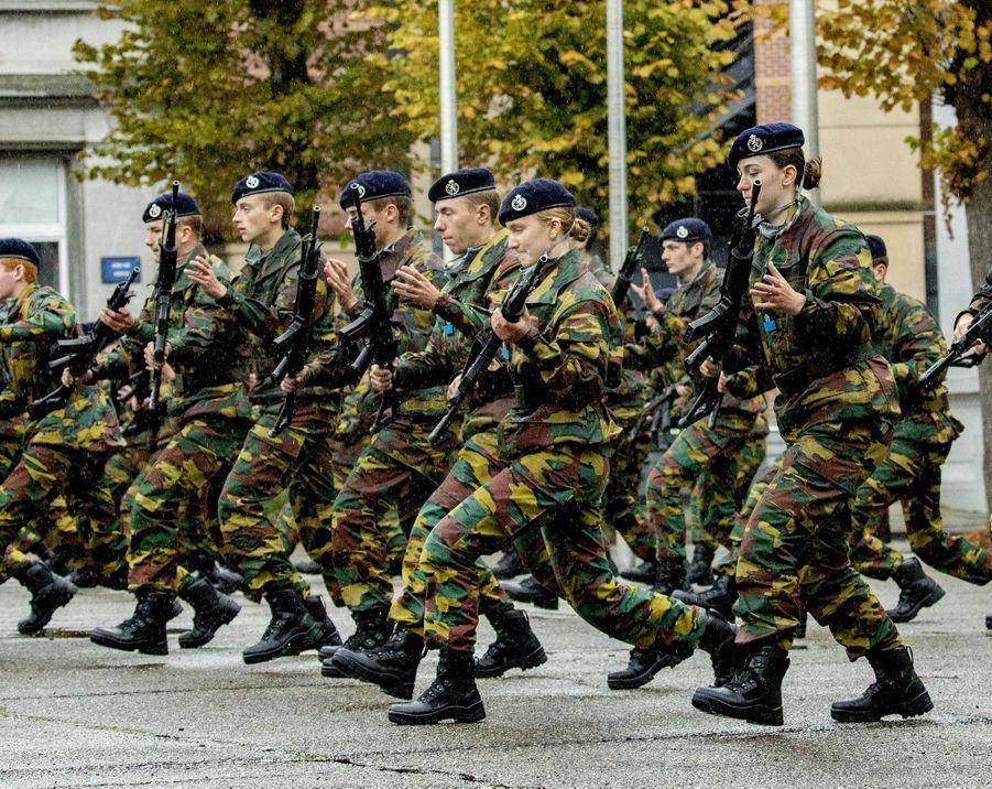La princesse Elisabeth de Belgique à Bruxelles, le 25 septembre 2020