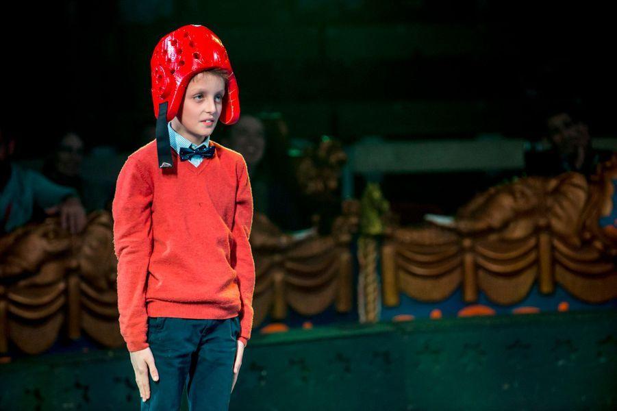 Le prince Aymeric de Belgique au cirque Bouglione à Bruxelles, le 5 décembre 2015