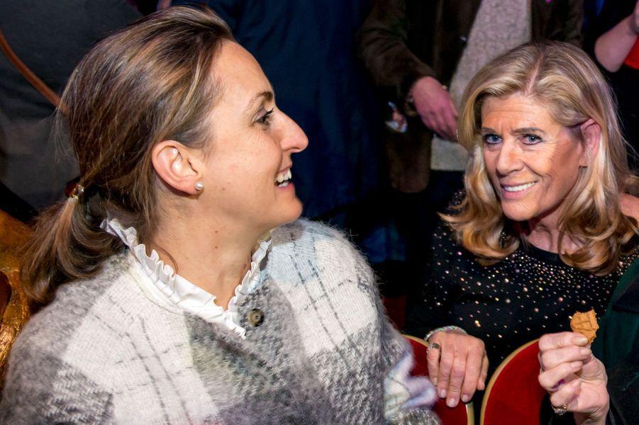 Les princesses Claire et Léa de Belgique au cirque Bouglione à Bruxelles, le 5 décembre 2015