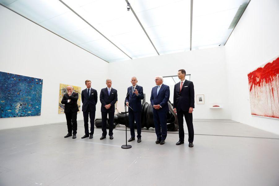 Les chefs d'Etats germanophones à Linz, le 4 juin 2019