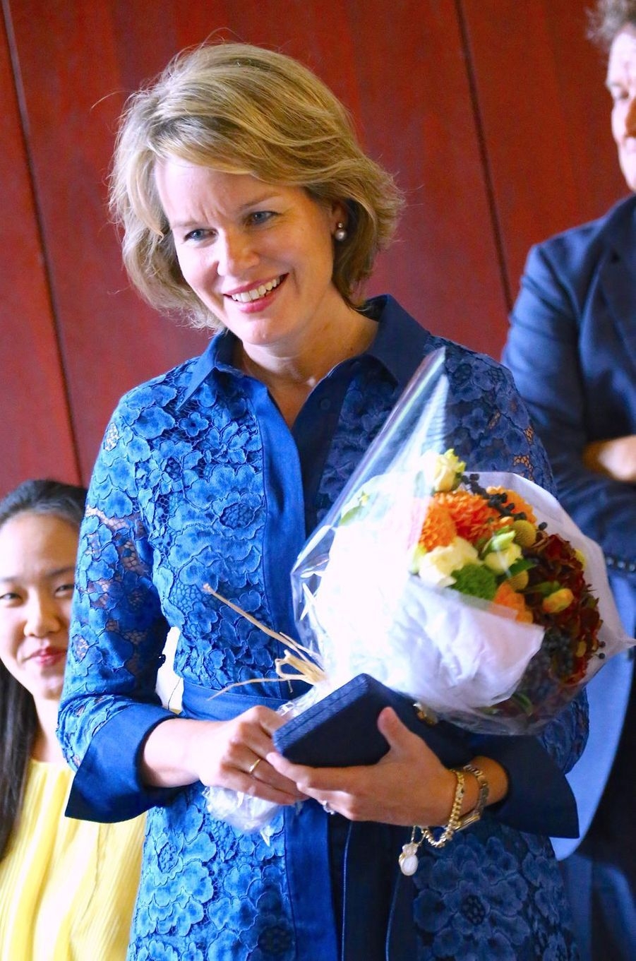 La reine Mathilde de Belgique, le 23 septembre 2019 à New York