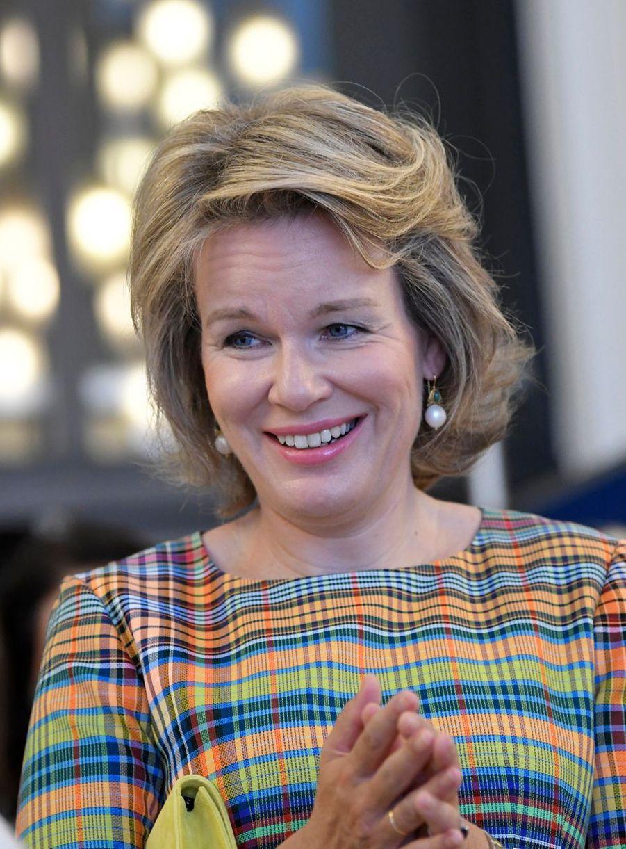 La reine des Belges Mathilde à Bruxelles, le 13 septembre 2019
