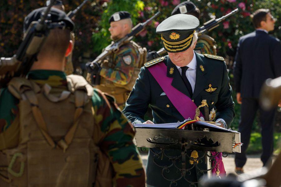 Le roi des Belges Philippe à Bruxelles, le 8 mai 2020