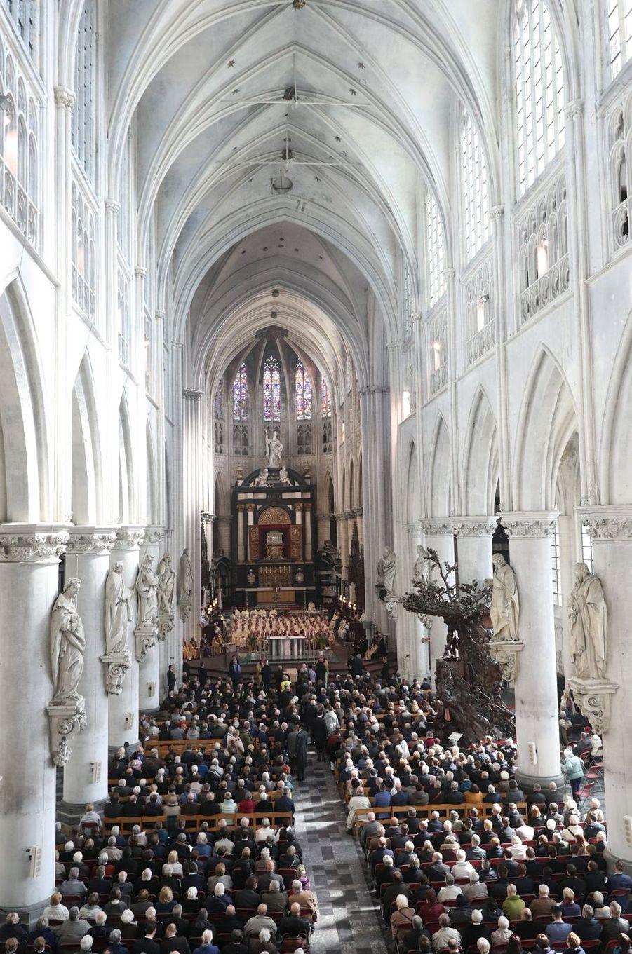 Les obsèques du cardinal Danneels à Malines, le 22 mars 2019