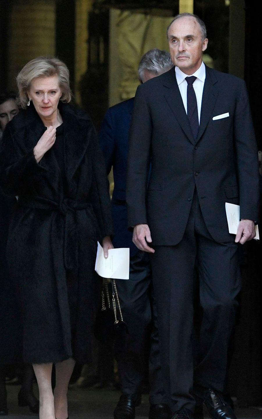 La princesse Astrid de Belgique et le prince Lorenz à Malines, le 22 mars 2019