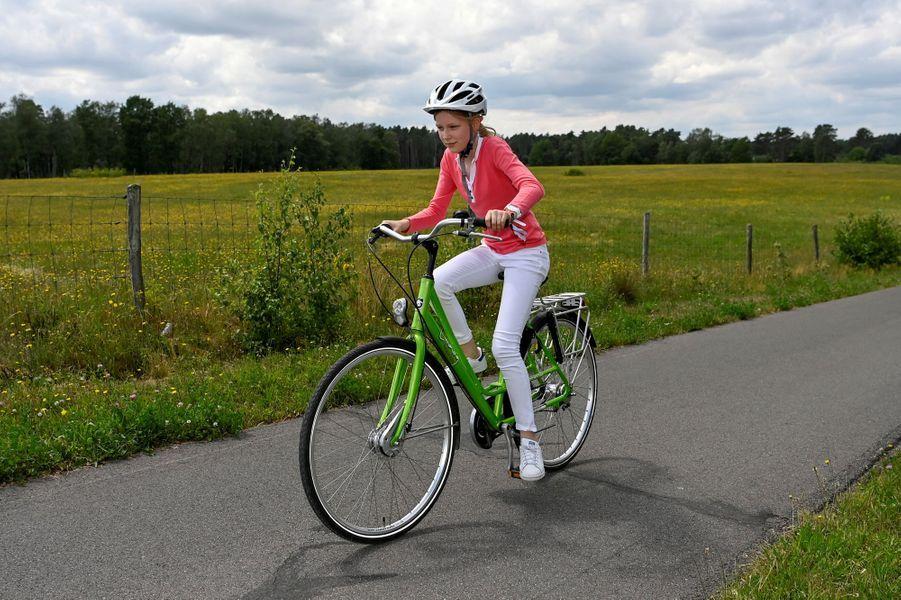La princesse Elisabeth de Belgique à Bokrijk, le 27 juin 2020