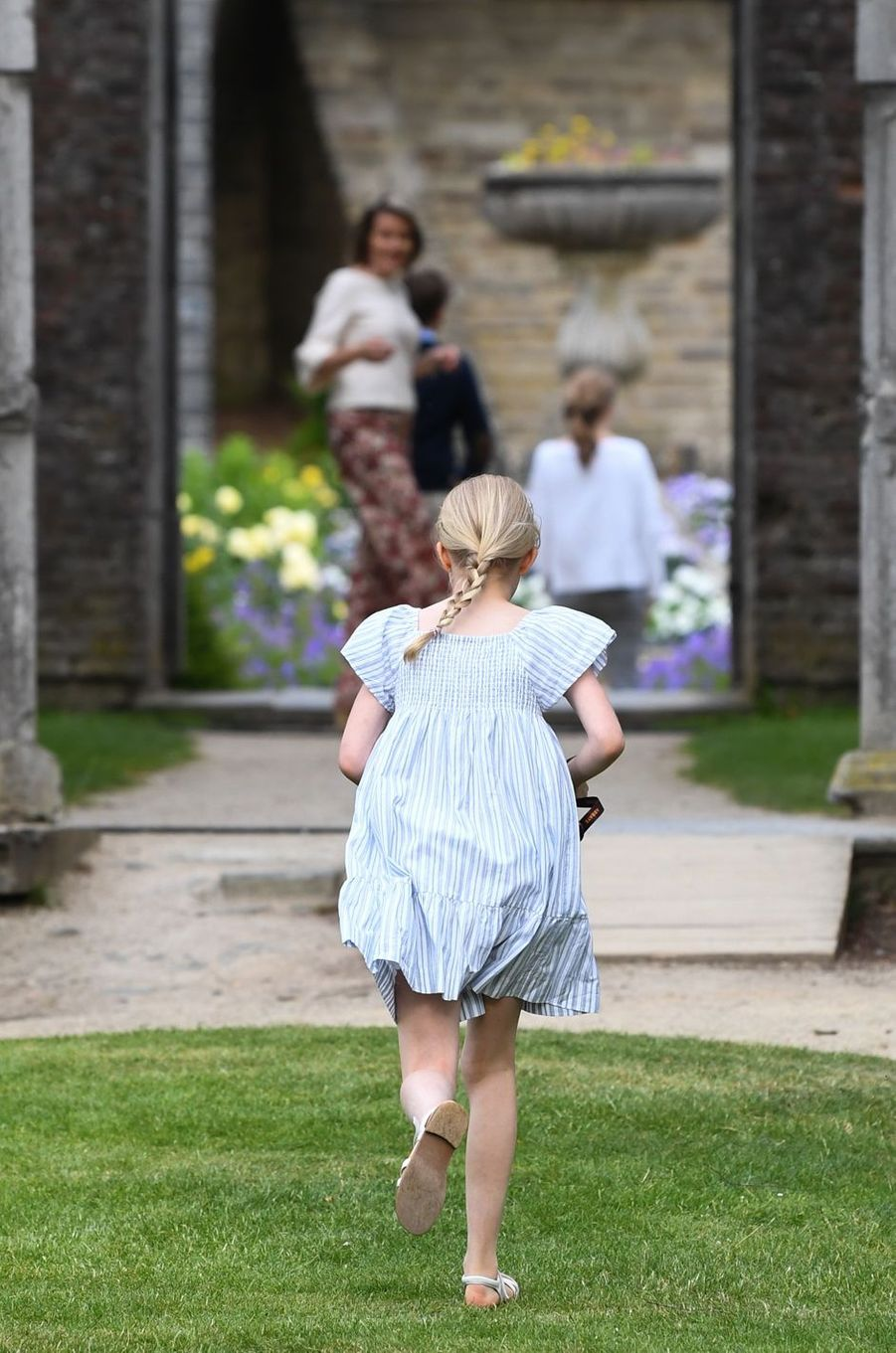 La princesse Eléonore de Belgique à Villers-la-Ville, le 24 juin 2018