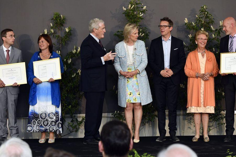 La princesse Astrid de Belgique à Bruxelles, le 31 mai 2017