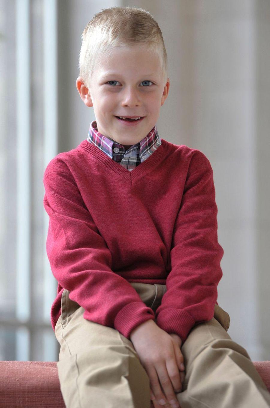 Le prince Emmanuel de Belgique. Photo diffusée le 27 décembre 2012