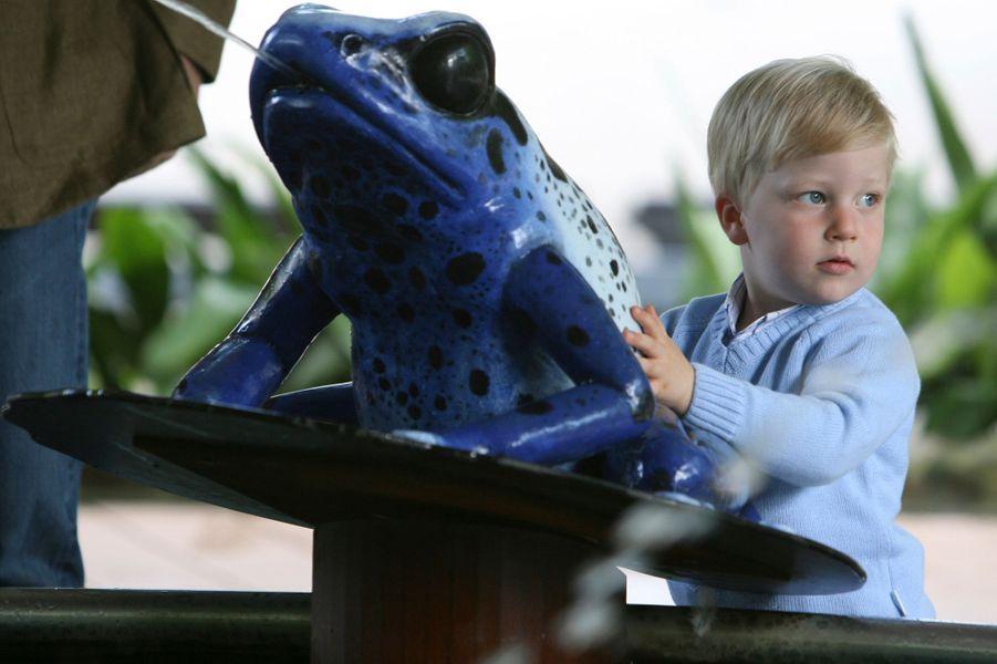 Le prince Emmanuel de Belgique, le 30 juin 2008