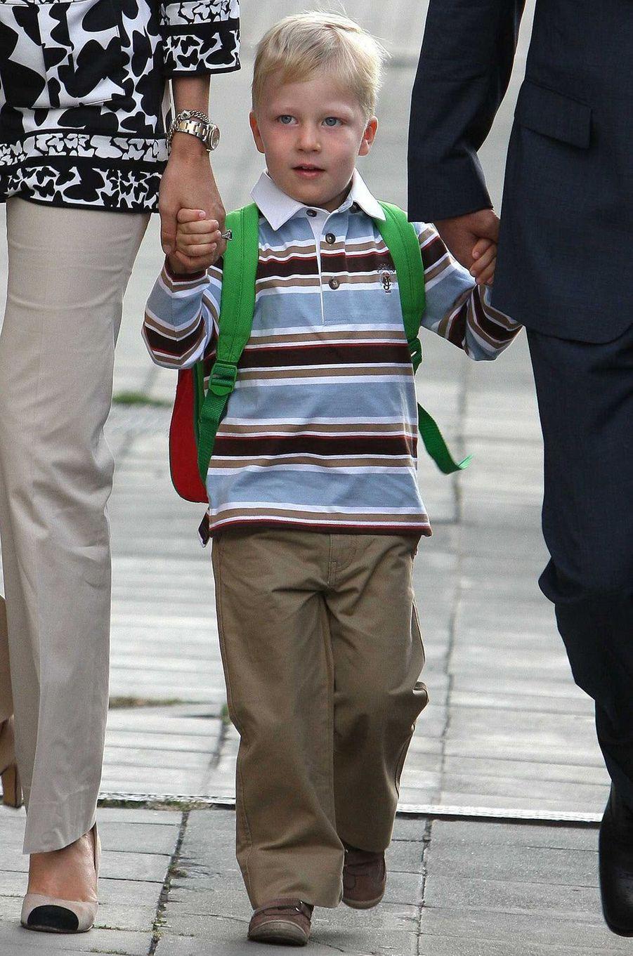 Le prince Emmanuel de Belgique, le 1er septembre 2009