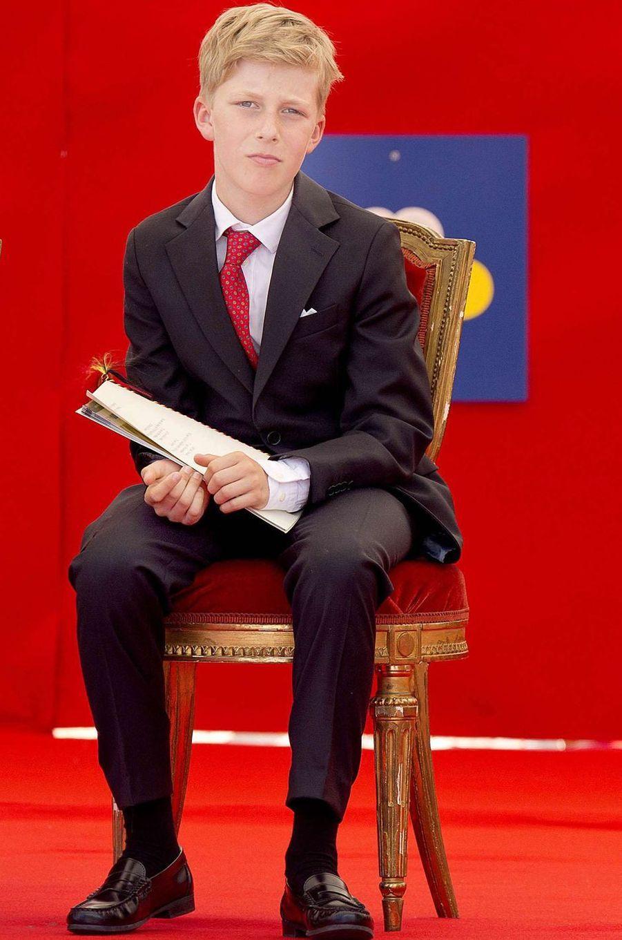 Le prince Emmanuel de Belgique, le 21 juillet 2017