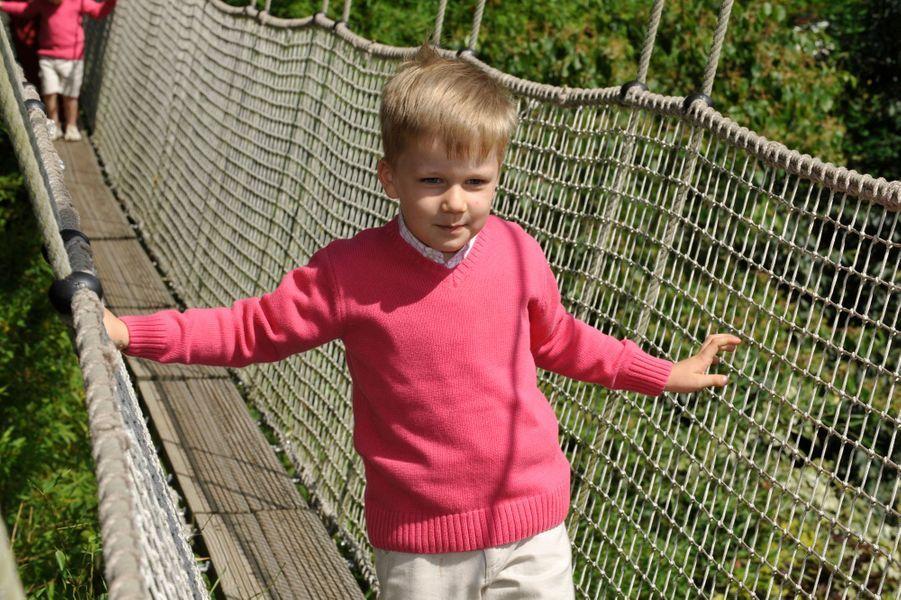 Le prince Gabriel de Belgique, le 18 juillet 2009