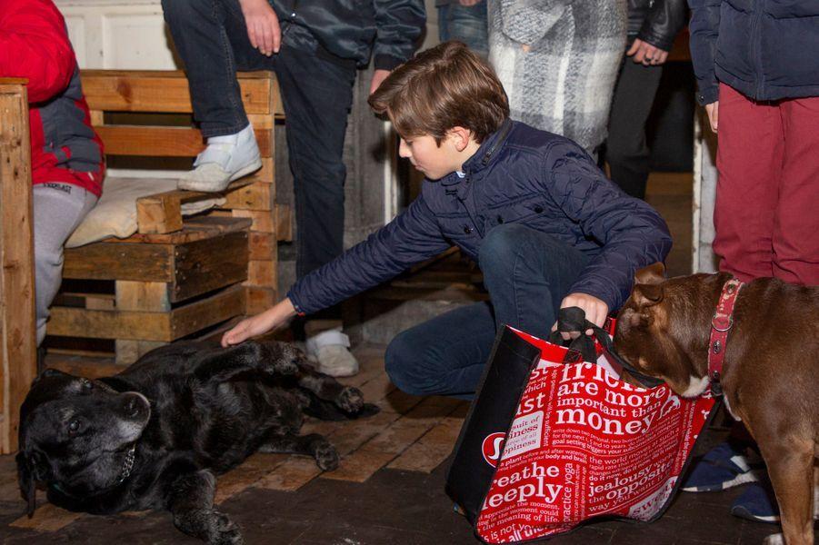 Le prince Aymeric de Belgique à Bruxelles, le 21 décembre 2018