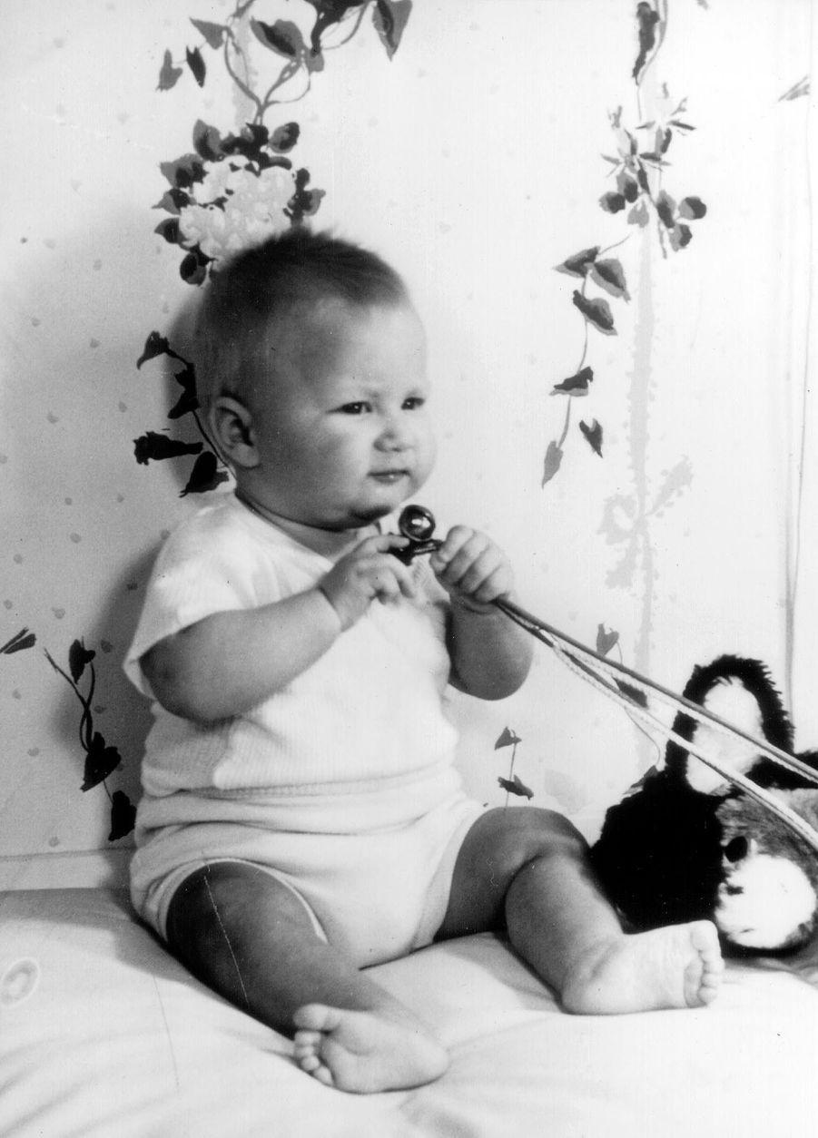 Le prince Philippe de Belgique, le 7 décembre 1960