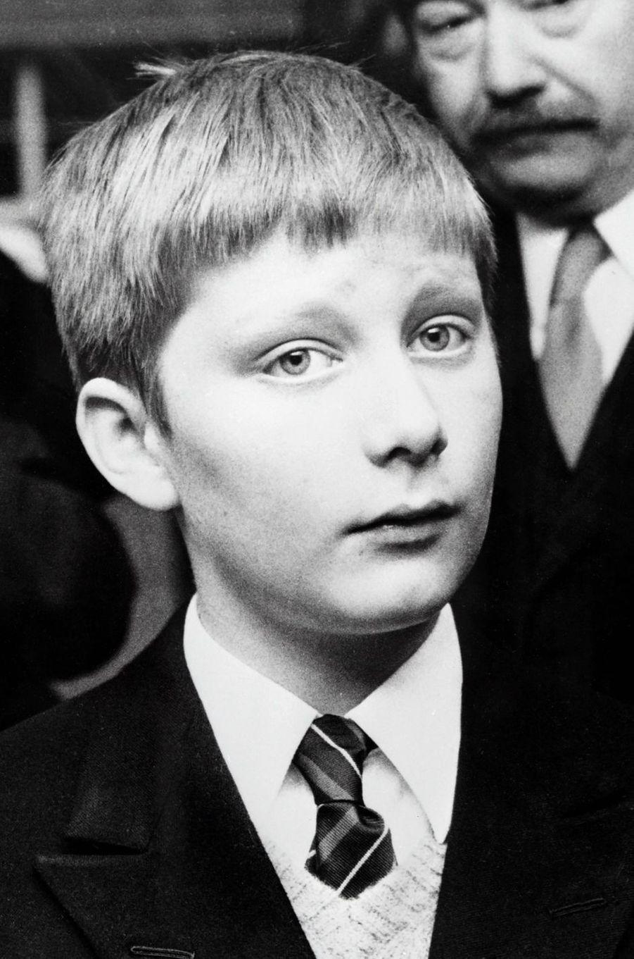 Le prince Philippe de Belgique, en 1973