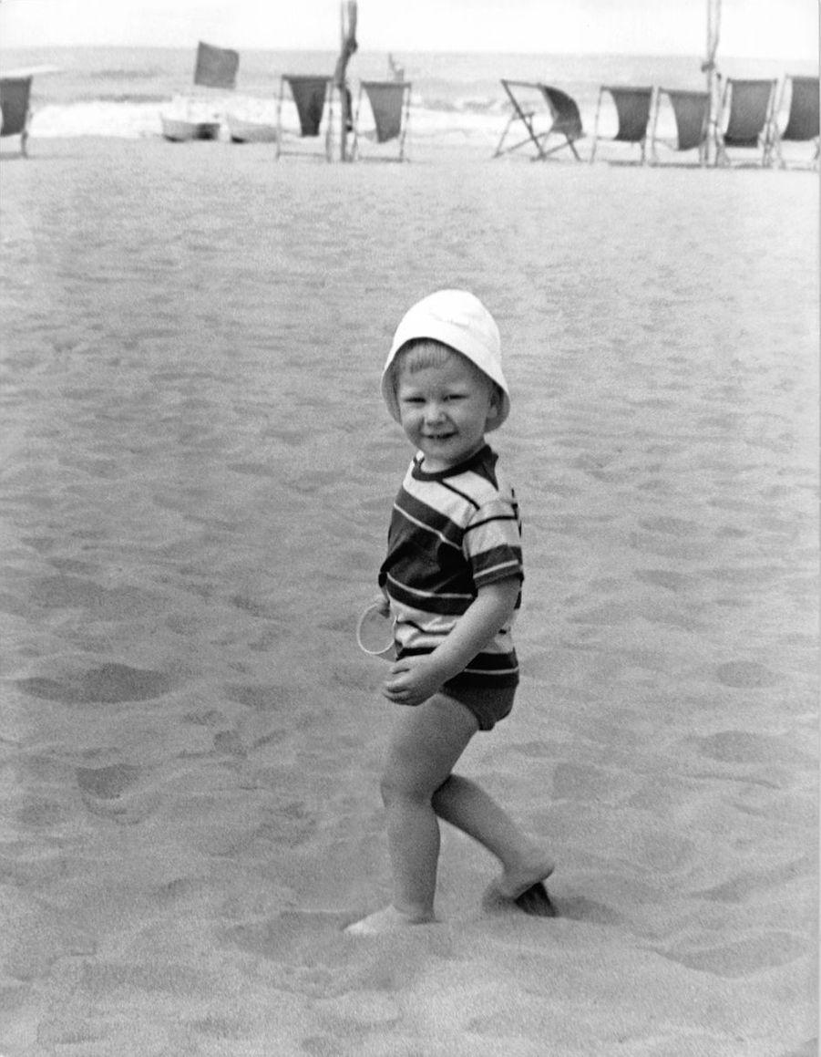 Le prince Philippe de Belgique, le 17 juillet 1962