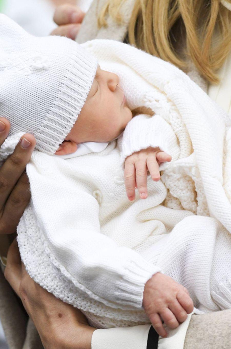 Anna Astrid, la fille du prince Amedeo de Begique à Bruxelles, le 20 mai 2016