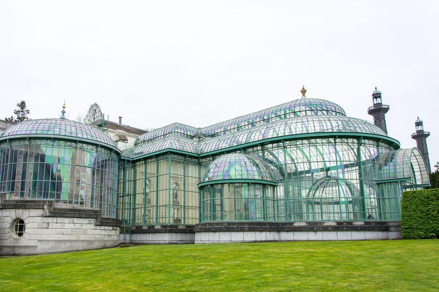 Les serres royales de Laeken à Bruxelles, le 14 avril 2017