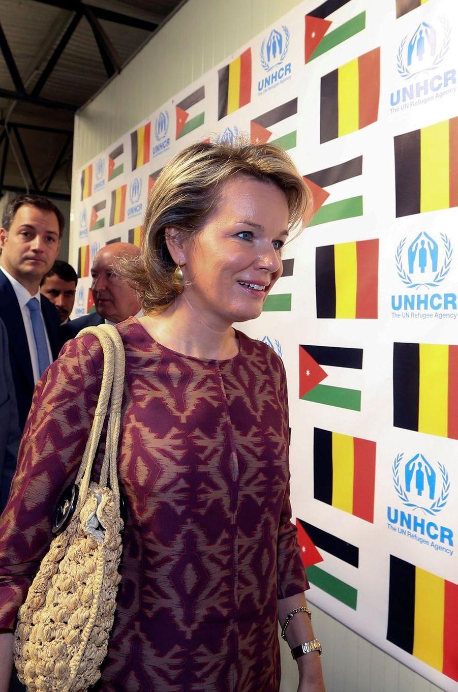 Mathilde, en Jordanie avec les réfugiés syriens