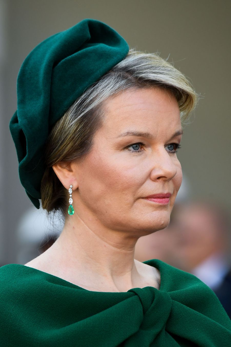 La reine des Belges Mathilde à Vienne, le 1er octobre 2018