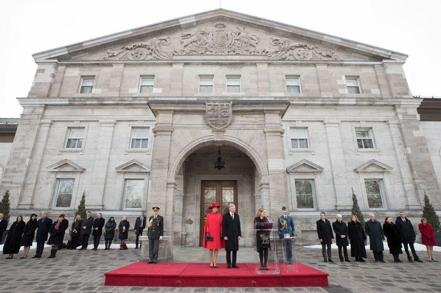 La reine Mathilde et le roi Philippe de Belgique à Ottawa, le 12 mars 2018