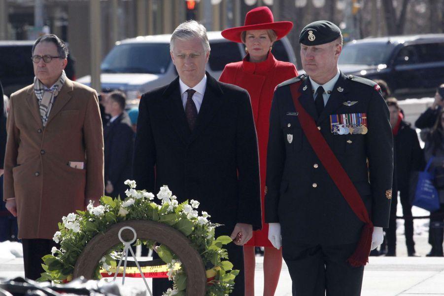 Le roi des Belges Philippe à Ottawa, le 12 mars 2018